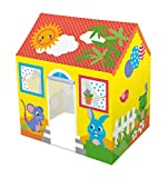 #7: Bestway Tent House Play House 40*30*45 Inches | Age 3 To 6 Years | Multi Colour | Best Way To Play Fun Time Task | See Thru Window 3 | No Tool Req.