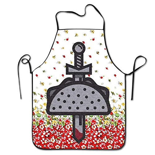 SPHGdiy Taco Knight Spill The Hot Sauce of Our Enemies BBQ Apron