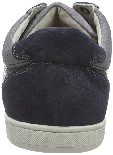 AUSTRALIAN - Parker Perfo Leather, Scarpe da ginnastica Uomo Blu (Blau (S02 Blue-Grey))