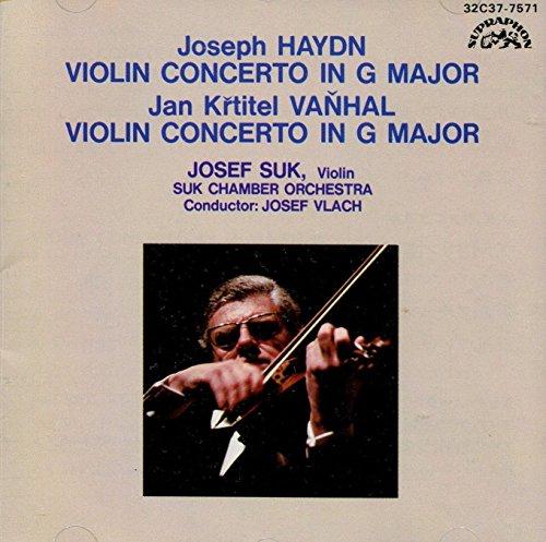 Haydn / Vanhal - Violin Concertos in G Major / Suk / Suk Chamber Orchestra / Vlach