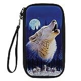 Showudesigns 3057Z6 - Organizador para maletas  Hombre Multicolor lobo One_Size