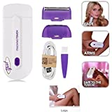 Dealsure Lipstick Shape Painless Flawless Facial Hair Remover Shaver For Women.