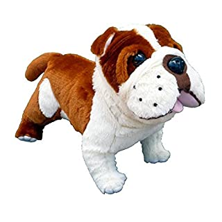 ADORE 14 Standing Buddy the Farting Bulldog Plush Stuffed Animal Toy by Adore Plush Company