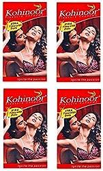 Kohinoor Pleasure Dotted Condom - 40 S�(Set of 4)