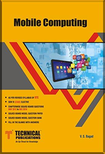 Mobile Computing for BTE (SEM-VI CS&E ELECTIVE COURSE-2015)
