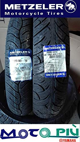 Paire de pneus scooter Metzeler Feelfree Wintec 100/80-16 120/80-16 Dot 2015-2018
