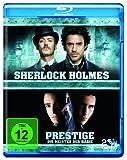 Prestige - Meister der Magie & Sherlock Holmes (2 Discs) [Blu-ray]