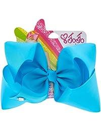 82f88c9e6f3 Claire s Girl s JoJo Siwa Large Bright Blue Hair Bow