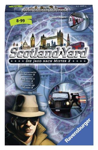 Preisvergleich Produktbild Ravensburger 23381 - Scotland Yard - Mitbringspiel