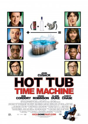 HOT TUB TIME MACHINE - US Imported Movie Wall Poster Print - 30CM X 43CM Brand New Hot Tub Time Machine-poster