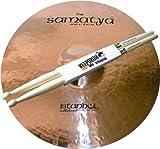 'Istanbul Mehmet Samatya Brilliant Crash 18Cymbals Cymbal Plus Keepdrum Drumsticks