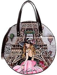Nicole Lee Mujer VDP12906-VDP Bolso circular, París Talla única