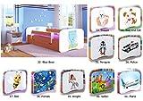 Children's Beds Home Einzelbett BabyDreams - Für Kinder Kinder Kleinkind Junior 140x70 160x80 180x80 MIT SCHUBLADEN und MIT SCHAUMMATRATZE Enthalten (Calvados, 140x70)