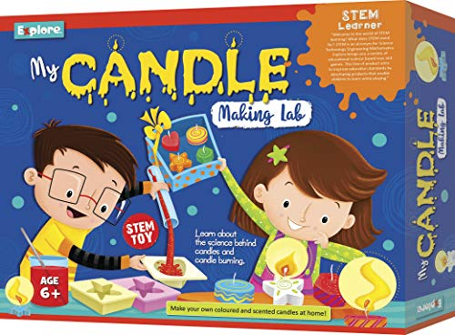 Explore.. | STEM Learner | My Candle Making Lab (Learning & Educational DIY Activity Toy Kit, for Ages 6+ of Boys and Girls)