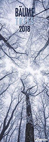Bäume 2018 - Naturkalender, Waldkalender, Landsschaftskalender - 34 x 98 cm