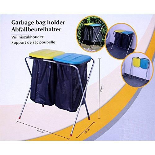 *Abfallbeutelhalter / Müllsackständer – 2er*