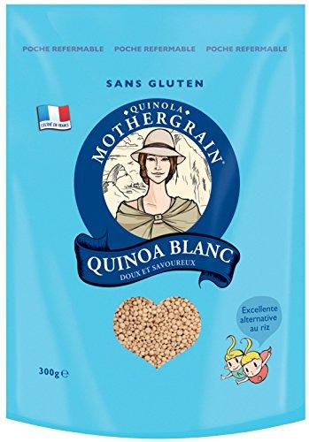 Quinola Mothergrain Quinoa Blanc Complet 300 g - Lot de 6