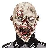 Widmann 00508 Maske Madhouse Zombie, Mehrfarbig
