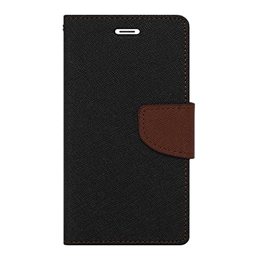 Novo Style Fancy Diary Wallet Flip Cover Case For Lenovo A7000 Black  available at amazon for Rs.222