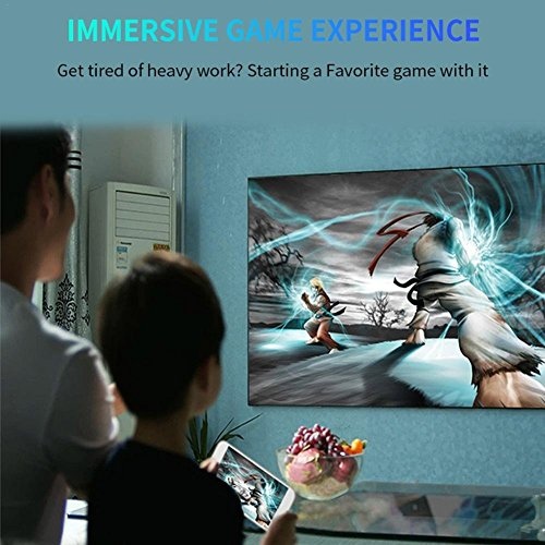 Enjoyall Portable Mini Home LED Projector  Support 1080P 1800 Lumens HD Projection