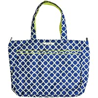 Ju-Ju-Be Classic Collection Super essere con cerniera borsa fasciatoio Tote Bag (Royal Envy)