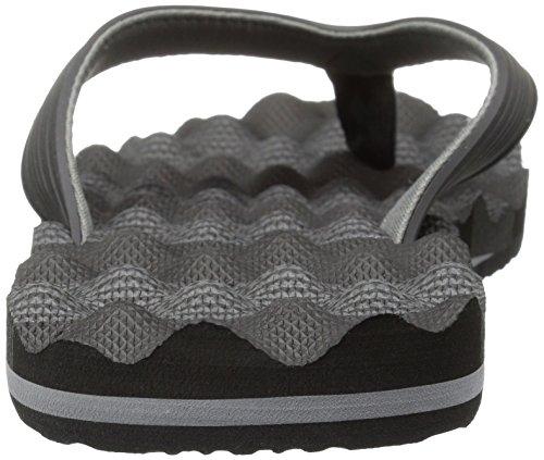 Quiksilver - - Herren-Massage Sandalen Black/Grey/Black