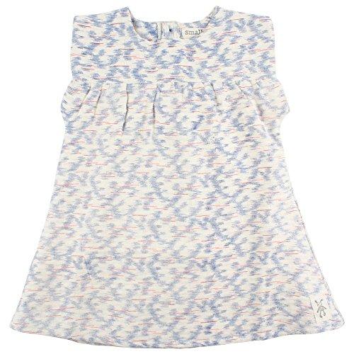 Small Rags Baby - Mädchen A-Linie Kleid Ella SS Dress 60412, Gr. 80, Rosa (White Peach 02-39)