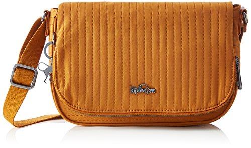 Kipling Earthbeat S, Borsa a Tracolla Donna Giallo (L43 Craft Ochre)