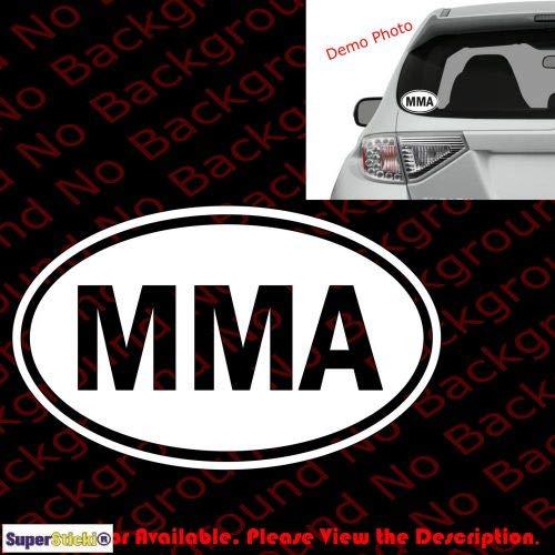 SUPERSTICKI MMA ca 20cm Aufkleber,Autoaufkleber,Sticker,Decal,Wandtattoo, aus Hochleistungsfolie,UV&waschanlagenfest, -