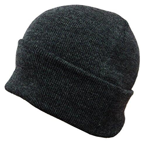 Gajraj Men's Woolen Skull Cap (Grey_Free Size)