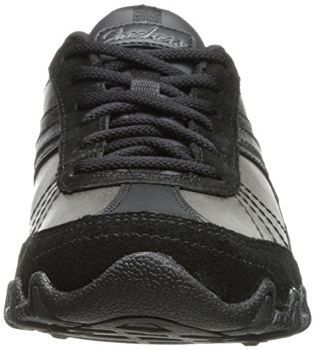 Skechers - Bikers Systematic, Sneakers da donna Nero (noir)
