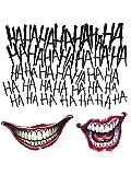 Suicide Squad Joker Tattoo Kit by DC Comics
