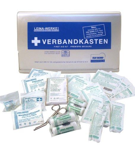 """Leina 73609 Verbandkasten """"Star"""" silber DIN 13164"""
