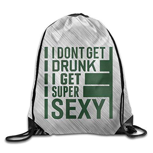 (H Ac K Er Hacker Sport Backpack Drawstring Print Bag)