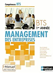 Management des entreprises BTS 1re année