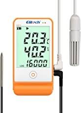 Elitech GSP-6 Temperature and Humidity Data Logger Recorder 16000 Point s Refrigeration Cold Chain
