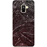 MADANYU Marble Design Designer Pattern Designer Printed Hard Back Shell Case For Samsung A8 Plus
