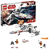 LEGO 75218 Star Wars X-Wing Starfighter Building Set, Rebel Pilots, R2-D2 and R2-Q2 Droids