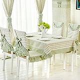QIANG AF Ländliches gewebe modernes einfaches tisch tuch,couchtisch tuch stoff handtuch-A 110x150cm(43x59inch)