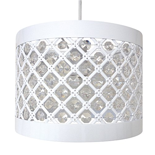Easy Fit Moda Sparkly Ceiling Pendant Light Shade Fitting Modern Decoration Test
