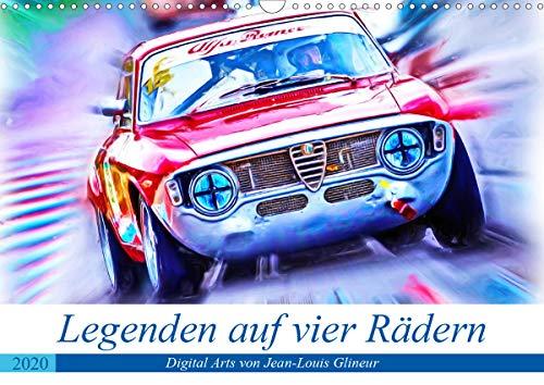 Legenden auf vier Rädern (Wandkalender 2020 DIN A3 quer): Klassiker unter den Tourenwagen (Monatskalender, 14 Seiten ) (CALVENDO Mobilitaet) - Rallye Räder Racing