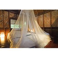 Mosquito Nets 4 U - Zanzariera da letto per casa e per le vacanze con (4 Letto A Baldacchino)