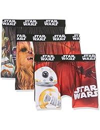 Star Wars Packx3, Boxer Garçon, Lot de 3