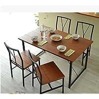 Creative rustici mobili in ferro sedie da