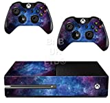 BNBUKLTD� Skin Sticker For Xbox ONE Console Controller + Kinect Decal Vinyl ( Nebula Pattern)