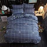 Einzelbettdecke aus gebürsteter Aloe-Baumwolle, 3er-Set 1.2