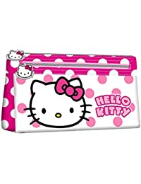 KARACTERMANIA, HELLO KITTY Beauty Case Flat Dots - Neceser para niñas