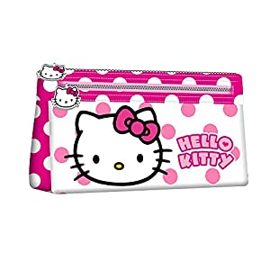 KARACTERMANIA, HELLO KITTY Beauty Case Flat Dots – Neceser para niñas