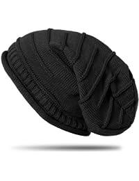 CASPAR MU079 Bonnet classique unisexe - Slouch Beanie avec des motifs originaux