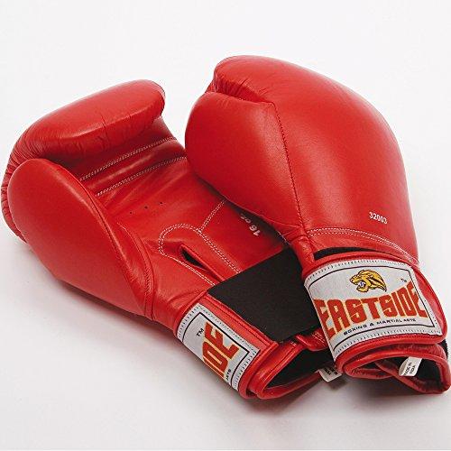 Eastside-Set da allenamento da uomo stile tradizionale da boxe guanto in pelle Guanti da uomo - Batting Guanto Set